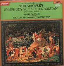 Tchaikovsky(Vinyl LP Gatefold)Symphony No.2 Geoffrey Simon LSO-Chandos-VG+/Ex+