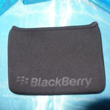 Genuine Blackberry Playbook Neoprene Sleeve Black blue reversible