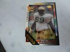 1992 Wild Card #410 George Williams 1000 Redemption Notre Dame Fighting Irish