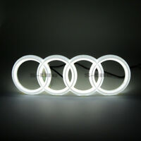 Illuminated Car Led Grille BlLED 4D Logo Emblem Lights For Audi RS3 A1 A3 A4 A5