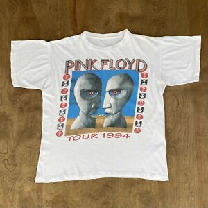 Vintage 90s 1994 Pink Floyd Division Bell Tour Concert Music Band Tee