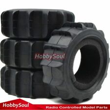 4pcs RC 1/8 Paddle Tire Off road Sand Snow Buggy Tyres For 1:8 HPI Losi Pro-Line