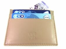Mens Ladies Slim Soft Leather Credit Card Holder Coin Pouch Purse Wallet