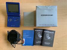 Nintendo Game Boy Advance SP - blau - Complete-in-Box