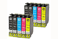 Cartucho de tinta EPSON T1631/2/3/4 16XL genericos Pack de 10 NON OEM