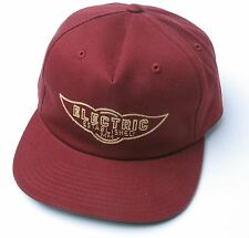 Electric Visual Nass Snapback Hat (Burgundy)