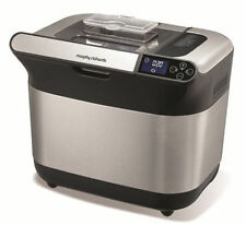 Morphy Richards Premium Plus 600W Bread Maker - Silver/Black