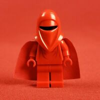 Genuine Vintage Lego 7166 Star Wars Imperial Royal Guard Minifigure Red Arms