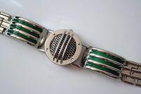 Communicator Green Metal Ranger Bracelet Cosplay Prop Power Novelty FREE Shippin