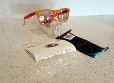 NEW Oakley Frogskins Blacklight Orange / Pink w/ Pink Iridium Lens 24-284 BNIB