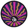 Om Symbol Aom Zeichen Yoga Goa Sonne Mandala Aufnäher Aufbügler Patch Bügelbild