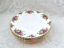 Royal Albert Old Country Roses dinner plates English bone china lot of 8 dishes