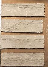 FOUR WHITE UNPAINTED BRICK WALLS 1:24-1:35 SCALE  DIORAMA MINIATURE NEW !