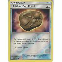 210/236 Unidentified Fossil | Uncommon Reverse Holo | Pokemon SM11 Unified Minds