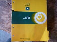 John Deere 4840 Tractor Parts Catalog Manual Book Original PC-1614