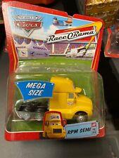 Disney Pixar The World Of Cars 1:55 Diecast Race O Rama RPM Semi #12 NEW