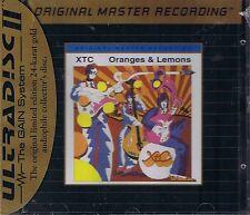 XTC Oranges & Lemons MFSL GOLD CD UD 682 NEU OVP Sealed UDCD 682 mit J-Card