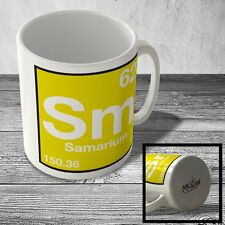 MUG_ELEM_087 (62) Samarium - Sm - Science Mug