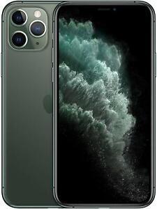 Apple iPhone 11 Pro Max 64GB 🍎 Midnight Green Verizon T-Mobile AT&T Smartphone