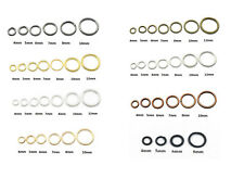 200pcs Split DIY Jump Rings Open Connector Jewelry Finding 4/5/6/7/8/10/12MM
