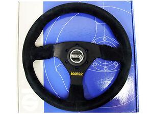 Sparco Steering Wheel - R383 (330mm/39mm Dish/Suede)
