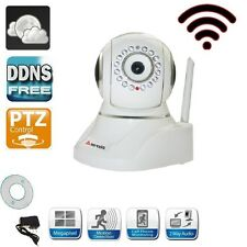 Apexis Baby Monitor  Digital Wireless/Wired Indoor Mini IP Camera PTZ, CMOS+DDNS