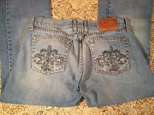 LUCKY BRAND LIL ROSE BOOT CUT DISTRESSED CUTE POCKETS WOMEN'S JEANS SIZE 6/28