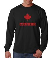 Long Sleeve Canadian Maple Leaf Shirt Pride T-Shirt National Symbol of Canada