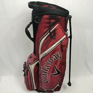 Callaway Stand Golf Bag 7 Way Divider Top 5 Pocket . Pre-owned NO STRAP FADED