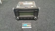 VW JETTA GOLF MK5  STEREO CD PLAYER CHROME RCD 300 1K0035186P WITHOUT CODE