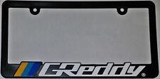 Greddy LIC02014 License Plate Frame JDM Original Discontinued Rare