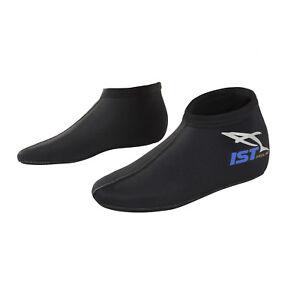 IST SK1J 3mm Nylon II Super Stretch Neoprene Low Cut Kids Dive Socks