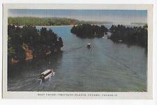 Vintage Postcard Ontario Canada Boat Cruise Thousand Islands