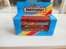 """Matchbox London Bus London Bus"""" in Red in Box"""