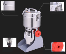 800g Stainless Steel High-speed Grinder Multifunction Swing Mill Universal DHL