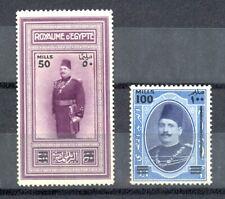 EGYPT- 1932 Postage SC# 166 - 167 MH