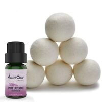 Mountclear Wool Dryer Balls-Lavender Scented Oil Fabric Softener-All...