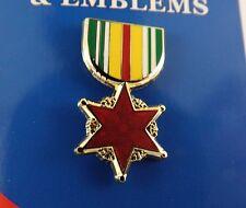 "BRAND NEW Lapel Pin VIETNAM WOUND Medal Enamel 1 3/16"""