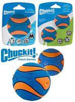 Chuckit Ultra Squeaker Ball Dog Puppy Toys Bouncy Fetch Balls Small Medium Large