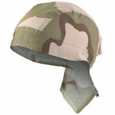 Mil-Tec 100% Cotton Bandana - Headwear Classic Military Cut Scarf Desert 3-color
