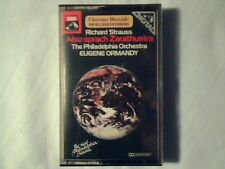 EUGENE ORMANDY Strauss: Also sprach Zarathustra mc cassette k7 NUOVA UNPLAYED!!!