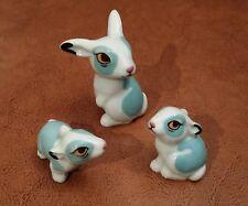Wade Happy Family Rabbits 1st Edition Turquiose VGC