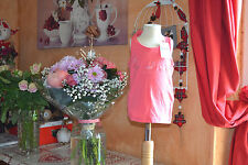 tee shirt repetto neuf  rose sorbet debardeur 4 ans les pointes++
