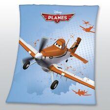 PLANES Disney Fleecedecke Decke Kuscheldecke 125/150 p. zur Bettwäsche Flugzeug