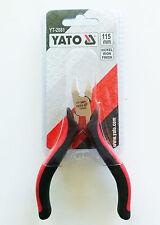 Yato yt-2081 CORTE LATERAL MINI ALICATES 115mm Níquel Acabado