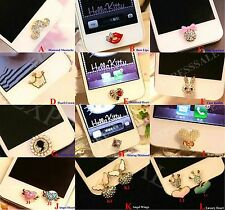 1PC 3D Crystal Diamond Home Button Sticker For iPhone4s,5,5c,5s,6,6 Plus,iPad