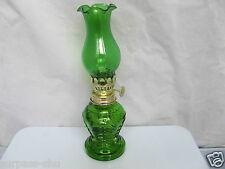 new Classic green Antique Oil / Kerosene Stand Lamp kerosene oil Lamp Glass U