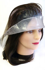 HAIR TOOLS HAIRDRESSING PROFESSIONAL HIGHLIGHTING CAP WHITE WITH METAL HOOK