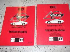 car truck manuals literature for chevrolet corvette ebay rh ebay com 1993 corvette service manual book 1 1993 corvette service manual pdf