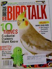 **BIRD TALK MAGAZINE Apr 08 Cockatiel Find Avian Veterinarian Survival Kit